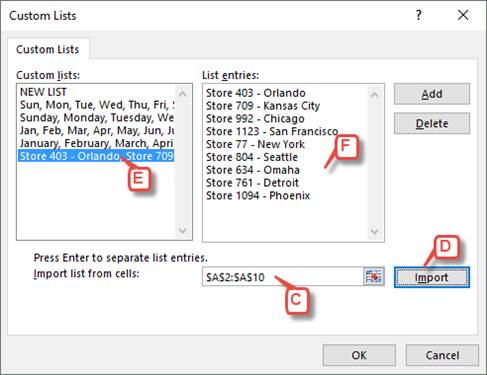 Create a Custom AutoFill Series in Excel   Pryor Learning