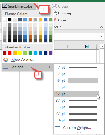 3 Easy Ways to Customize Your Sparklines in Excel | Pryor