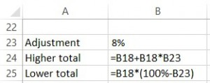 Percentage Formula 2_two formulas