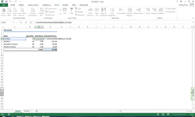 Fred Pryor Seminars_Excel Functions VLOOKUP 2