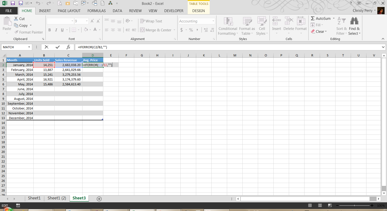 Fred Pryor Semianrs_Excel Copy Formula Down 1