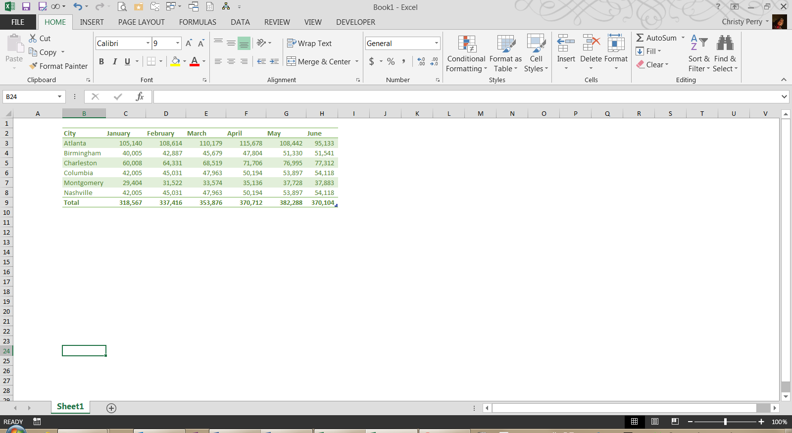 Fred Pryor Seminars_Excel Formula for Subtraction 1