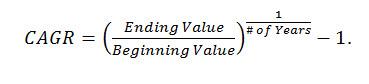 Fred Pryor Seminars_Excel CAGR Formula figure 2