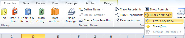 Fred Pryor Seminars_Excel formula not calculating figure 2