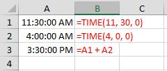 Fred Pryor Seminars_Excel Time Formulas Figure 5