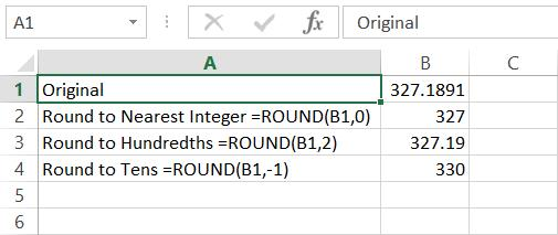 Fred Pryor Seminars_Excel Rounding Formula_figure 1