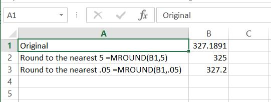 Fred Pryor Seminars_Excel Rounding Formula_figure 2
