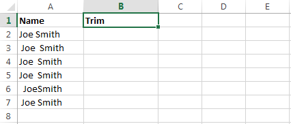 Fred Pryor Seminars_Excel Formula Remove Spaces_1