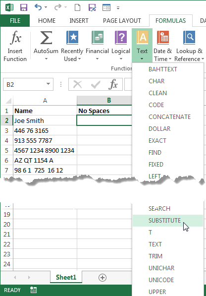 Remove Extra Spaces from Excel Data | Pryor Learning Solutions