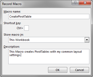 tips for creating perfect pivot tables with a macro