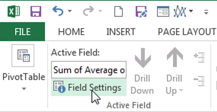 How to Create a PivotTable Calculated Field in Excel - Field Settings