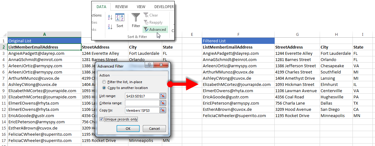 How to Find & Eliminate (or Use!) Duplicates in Excel Data | Pryor