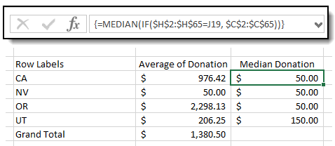 Calculate Median in Excel PivotTable - Image 5