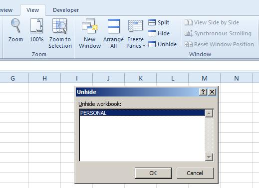 Save Your Excel Macro for Use in All Workbooks | Pryor