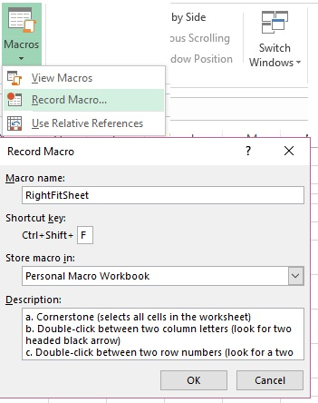 Making the Most of the Excel Macro Recorder Feature | Pryor