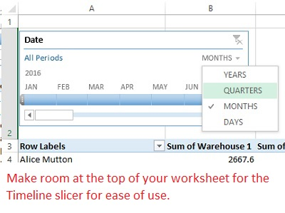 How to Work with Excel PivotTable Dates | Pryor Learning