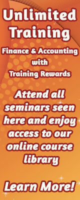 Unlimited Training in Finance and Accounting with Training Rewards.