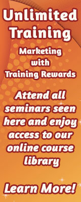 Unlimited Training in Marketng with Training Rewards.