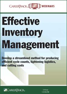 Inventory management training program 5k