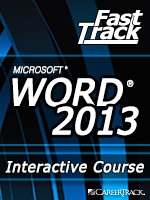 Microsoft<small><sup>&reg;</sup></small> Word 2013 Adding Special Formatting