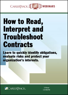 How to Read, Interpret and Troubleshoot Contracts