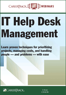 IT Help Desk Training Course - IT Help Desk Management