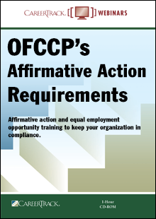 OFCCP's Affirmative Action Training Requirements