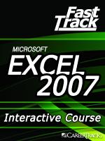Microsoft<small><sup>&reg;</sup></small> Excel<small><sup>&reg;</sup></small> 2007 Dynamic Formulas