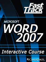 Microsoft<small><sup>&reg;</sup></small> Word 2007 Type and Edit Your Document