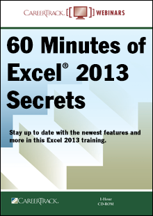 60 Minutes of Excel 2013 Secrets: Learn New Features & More