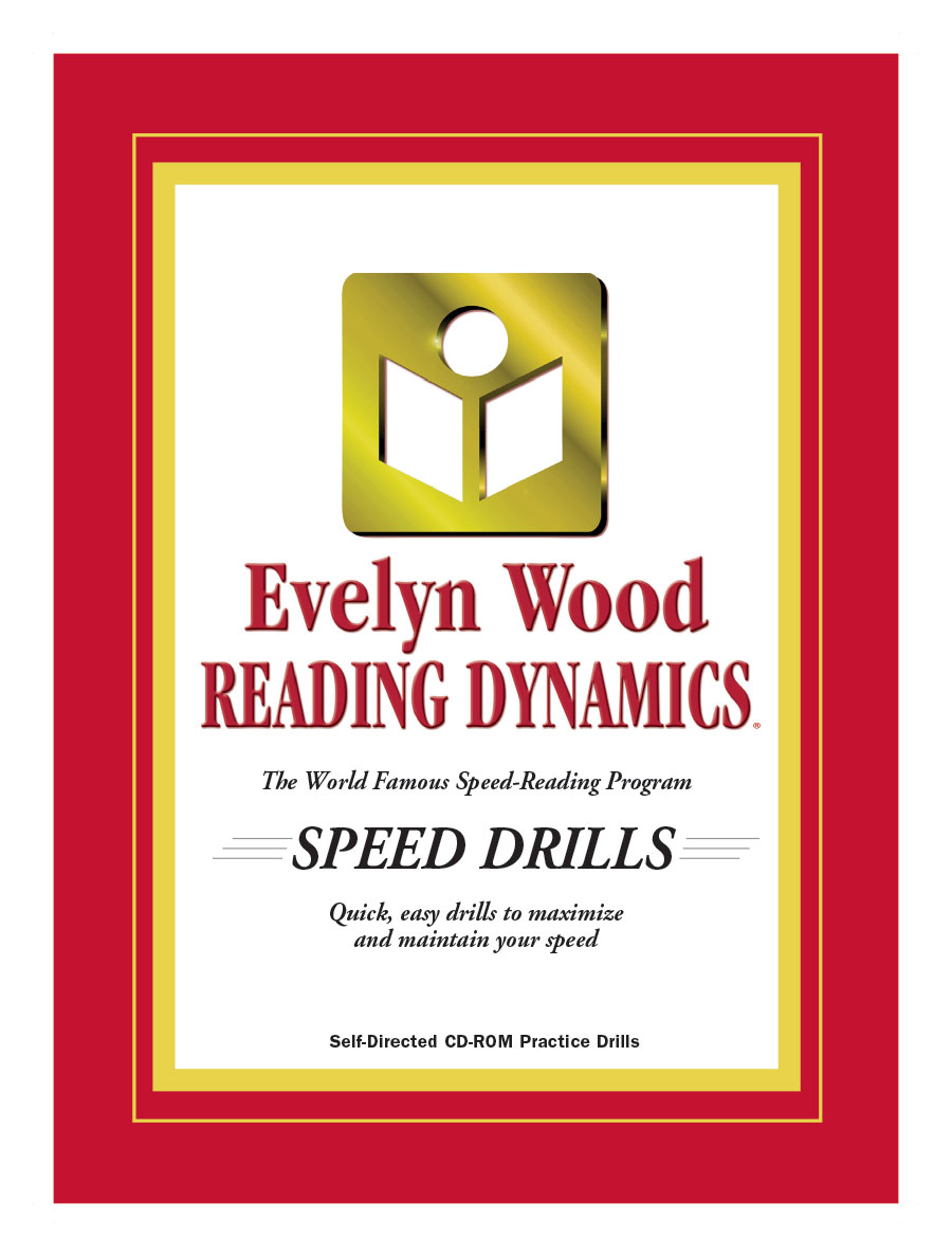 Evelyn Wood Reading Dynamics Speed Drills