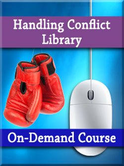 Conflict: Manage Conflict Situations