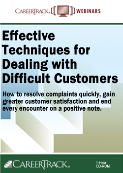Customer Service Training: Effective Techniques for Dealing with Difficult Customers