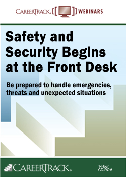Safety and Security Begins at the Front Desk Training