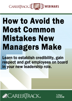 New Manager Training Online: How to Avoid the Most Common Mistakes New Managers Make