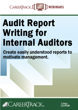 Audit Report Writing for Internal Auditors Training Course