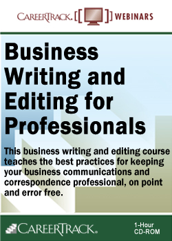 Business Writing and Editing for Professionals Course