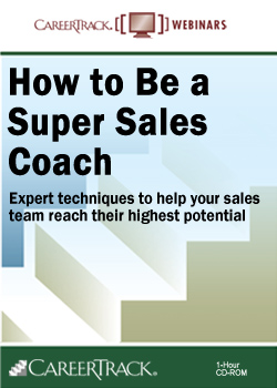 Sales Coaching for Success - Sales Coaching Training