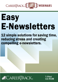 E-Newsletter Marketing Strategy Webinar: Easy E-Newsletters