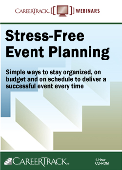 Stress-Free Event Planning - An Event Planning Training Course