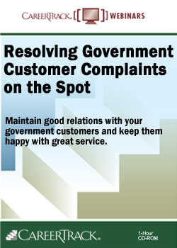 How to Resolve Government Customer Complaints on the Spot