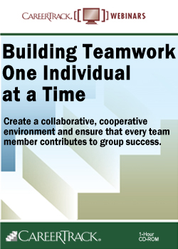 Team Building Training Online: Building Teamwork One Individual at a Time