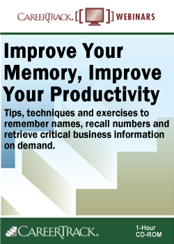 Memory Training Course: Improve Your Memory, Improve Your Productivity
