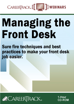 Managing the Front Desk