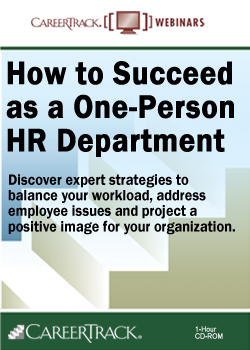 How to Succeed as a One-Person HR Department