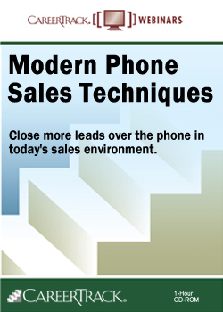 Modern Phone Sales Techniques - Telephone Sales Training