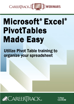 Microsoft Excel 2013 – Pivot Tables Training