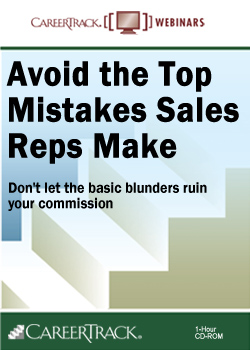 Avoid the Top Mistakes Sales Reps Make Training