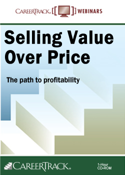 Selling Value Over Price - Sales Training