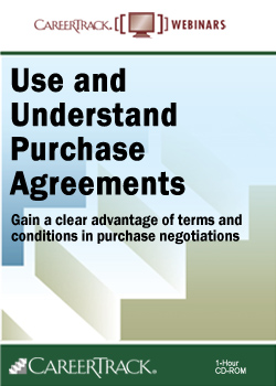 Use and Understand Purchase Agreements